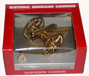 Civil War Cannon Based Model